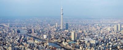 Tokyo dall'alto