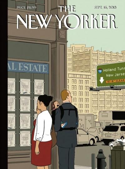 Adrian Tomine New Yorker