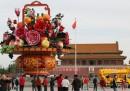 Il vaso enorme di piazza Tiananmen – foto