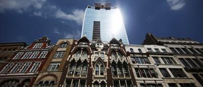 Il grattacielo ustore di Londra