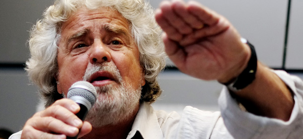 ITALY-POLITICS-ELECTIONS-GRILLO-VOTE