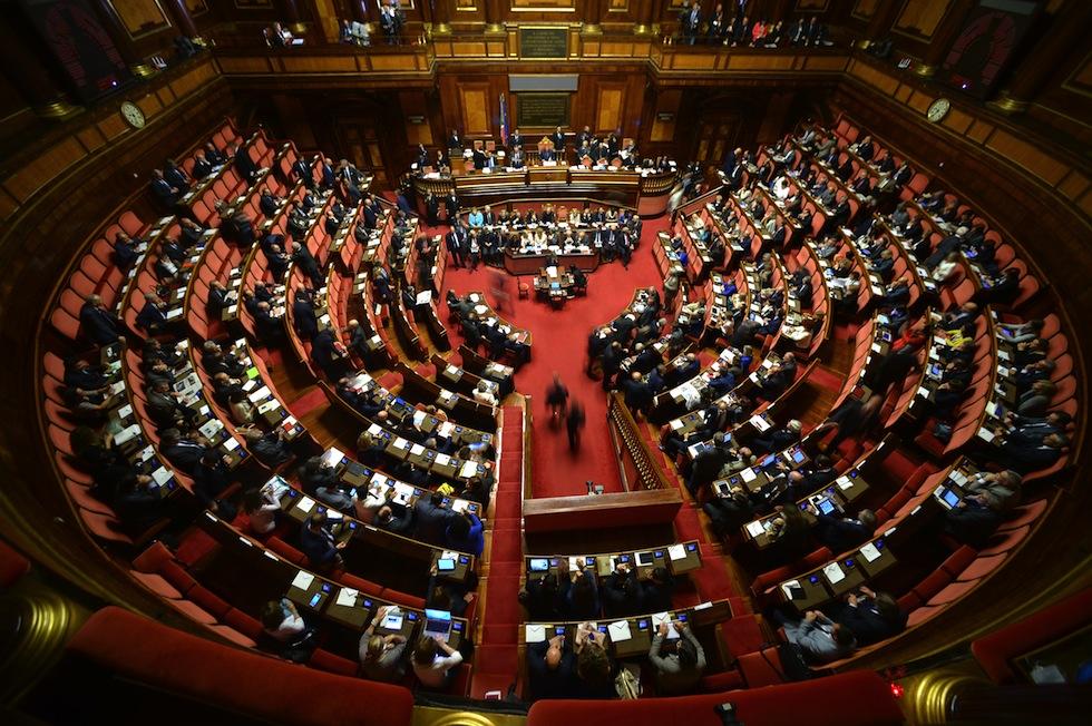 Il discorso di renzi in senato diretta il post for Parlamento streaming diretta