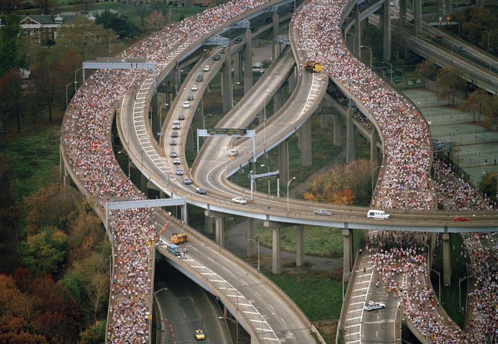 vecchie foto della maratona di new york il post