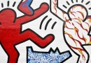 Le foto del murale di Keith Haring restaurato a Philadelphia