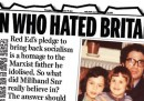 Ed Miliband contro il Daily Mail