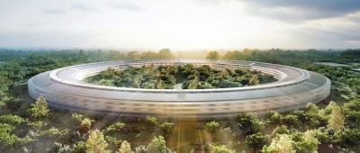 Il modello del nuovo campus di Apple