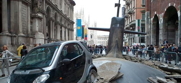 Il sottomarino finto nel centro di milano il post for Sottomarino italia