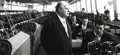 Adriano Olivetti e Ivrea