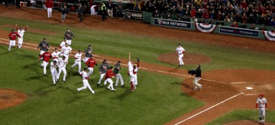 Boston ha vinto le World Series
