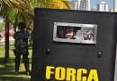 Le proteste in Brasile per il petrolio