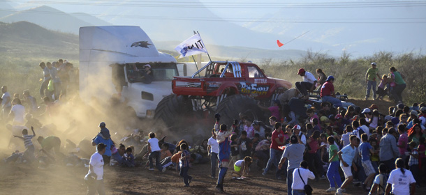 Mexico Monster Truck Accident