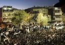 Le foto del più grande funerale della storia di Israele