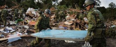 Le foto dei danni del tifone Wipha