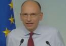 Enrico Letta sulla legge di stabilità