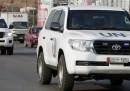 In Siria è iniziata la missione degli ispettori ONU per le armi chimiche
