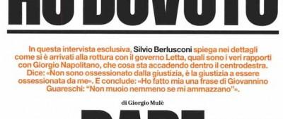 L'intervista di Berlusconi a Panorama