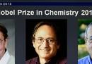 Il Nobel per la Chimica a Martin Karplus, Michael Levitt e Arieh Warshel