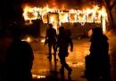 Le foto degli scontri a Rio de Janeiro