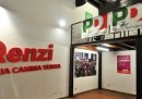 La sede di Matteo Renzi a Roma