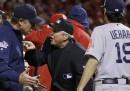 Il rocambolesco finale della terza partita delle World Series