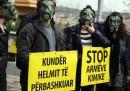 Albania armi chimiche Siria