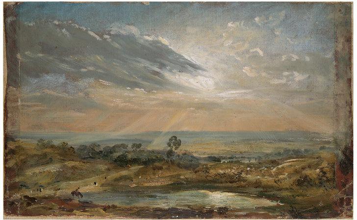 Branch Hill Pond, Hampstead - John Constable