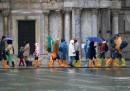 L'acqua alta a Venezia – foto