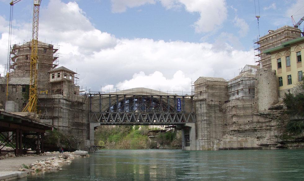 La distruzione del ponte di mostar il post for Disegni di ponte anteriore