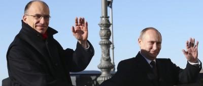 Le foto di Putin in Italia