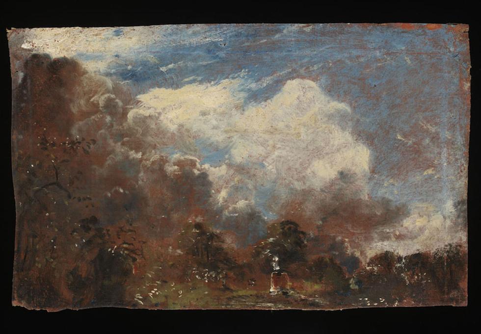 Il quadro appena scoperto di John Constable