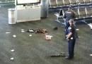 La sparatoria all'aeroporto di Los Angeles