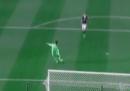 Il video del gol segnato dal portiere dello Stoke City dopo 13 secondi