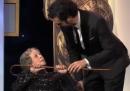 Lo scherzo di Sacha Baron Cohen ai Britannia Awards