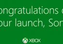 Gli auguri di Xbox alla nuova PlayStation 4