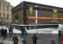 Il baule gigante di Louis Vuitton sarà rimosso dalla piazza Rossa, a Mosca