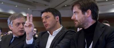 I discorsi di Renzi, Civati e Cuperlo
