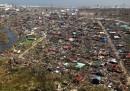 Il disastro delle Filippine visto dall'alto