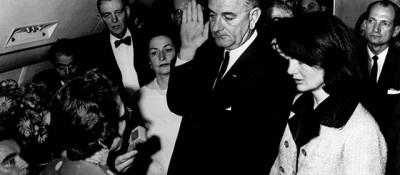 Il giorno che Johnson diventò presidente