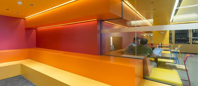 I nuovi uffici di google a madrid il post for Uffici condivisione milano