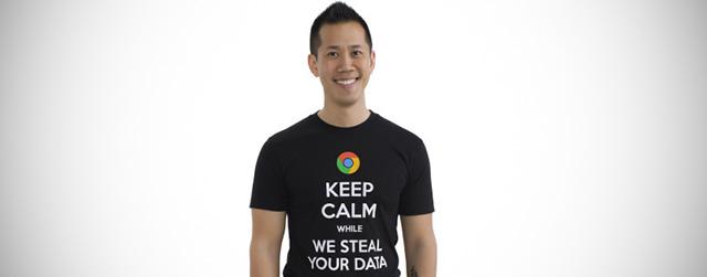 Le magliette di Microsoft contro Google