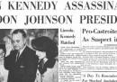Le prime pagine internazionali sulla morte di John F. Kennedy