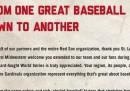 La pagina a pagamento dei Red Sox per St. Louis