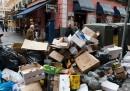 Una settimana di rifiuti a Madrid