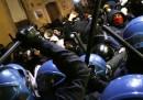 Le foto degli scontri a Roma