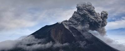 Lo spettacolo del Sinabung