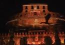 Lo spettacolo per la PlayStation 4 a Castel Sant'Angelo