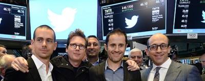 Il successo in borsa di Twitter