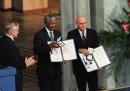Nelson Mandela e Frederik de Klerk
