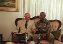 Nelson Mandela e Pieter W. Botha
