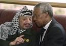 Nelson Mandela e Yasser Arafat